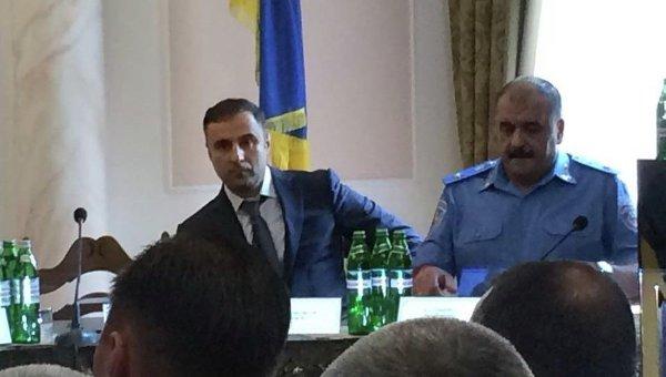 Начальник Управления МВД Украины в Одесской области Георгий Лоркипанидзе