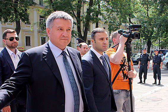 Арсен Аваков и Гиорги Лорткипанидзе