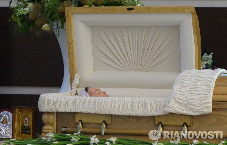 гроб жанна фото фриске прощание