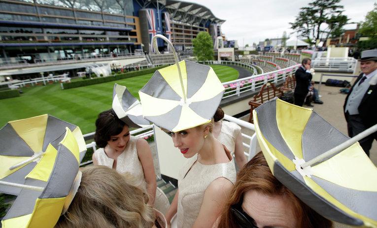 Шляпки на королевских скачках Royal Ascot