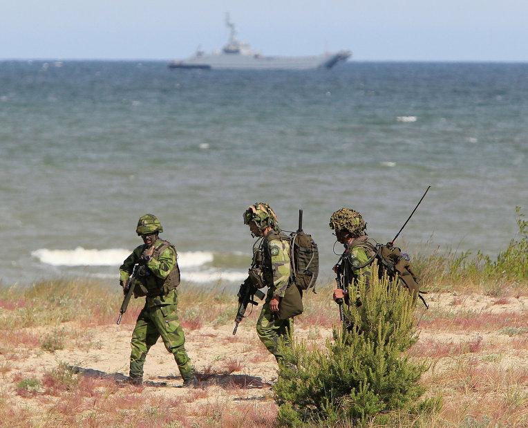 Учения НАТО Baltops-2015