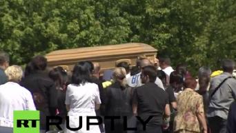 В Подмосковье похоронили Жанну Фриске. Видео
