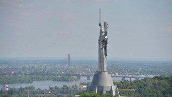 Виды Киева с высоты Лаврской колокольни