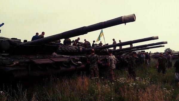 Танки, которые поступили на вооружение батальона Донбасс