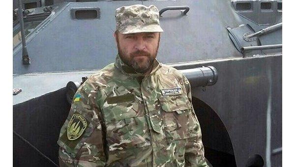 Заместитель командира роты Торнадо Николай Цукур