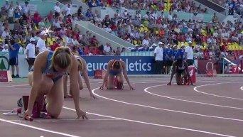 Украинки побили рекорд Европы в эстафете