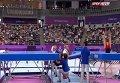 Спортсмен упал с батута на Европейских играх. Видео