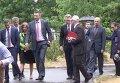 Ватрушки для переселенцев: Кличко и Пайетт открыли центр помощи беженцам. Видео