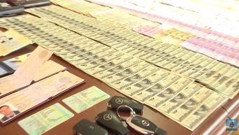 Обыск в Апелляционном суде Киева. Видео