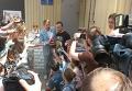 Денис Полищук на выходе из киевского следственного изолятора