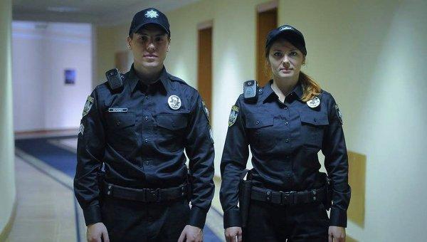 Новые патрульные полицейские в Кабмине