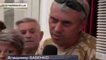 Бывшие бойцы Донбасса требуют расстрелять Семенченко. Видео