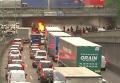 Таксисты протестуют в Париже