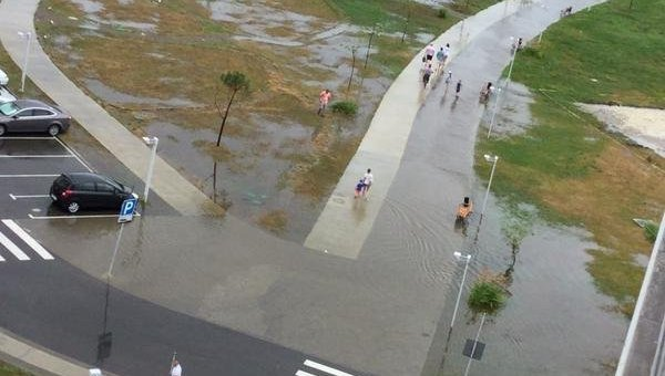 Потоп в Сочи. Олимпийская деревня