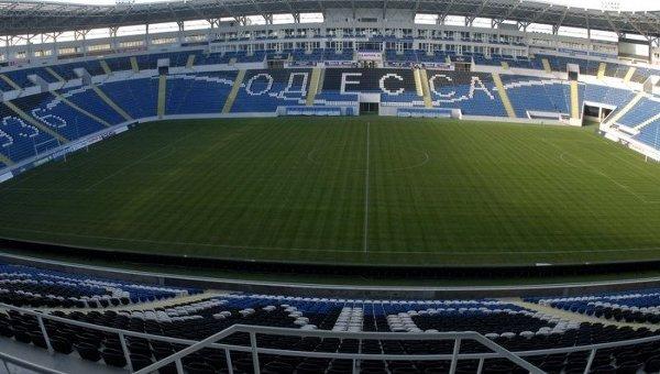 Стадион Черноморец в Одессе