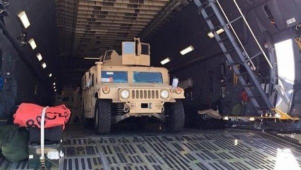 Американский бронеавтомобиль Humvee