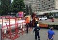 В столице демонтировали еще одну газовую заправку