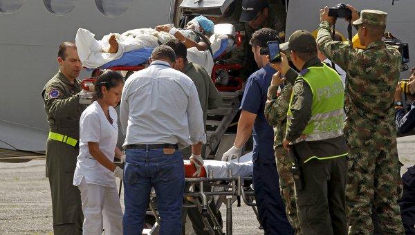 Авиакатастрофа в Колумбии. Архивное фото