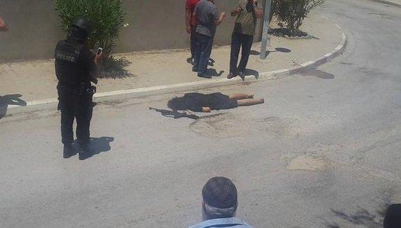 Убитый террорист в Тунисе. Стрельба возле отеля