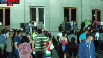 Митинг в Ереване. Видео