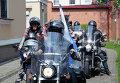 Участники мотопробега клуба Ночные волки. Архивное фото