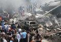 Падение самолета в Индонезии