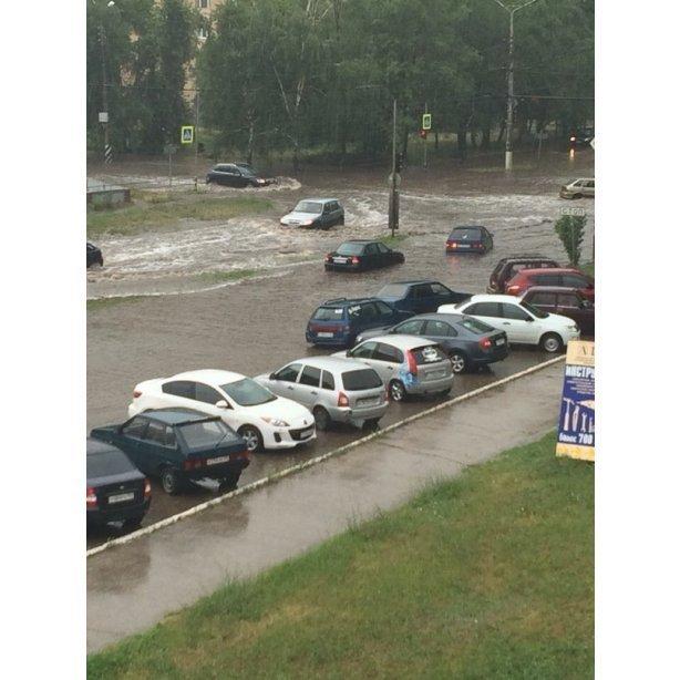 Ливень в Тольятти