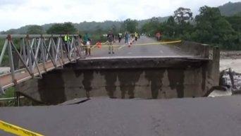 Коста-Рика: сотни человек бегут от наводнения. Видео