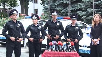 в МВД представили новую форму патрульных полицеских