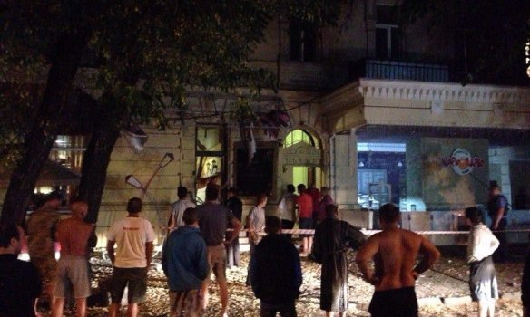 Взрыв в Одессе