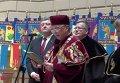 Вручение докторского звания Брониславу Коморовскому во Львовском национальном университете