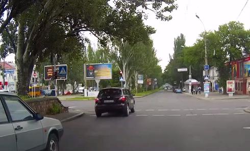 Первый день без ГАИ в Николаеве. Видео
