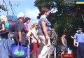 Перекрытие жителями Чернигова центральной дороги города