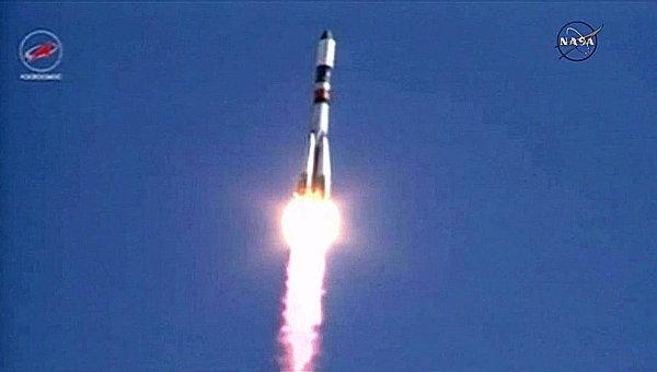 Грузовой корабль Прогресс М-28М успешно запущен к Международной космической станции с помощью ракеты-носителя Союз-У с космодрома Байконур