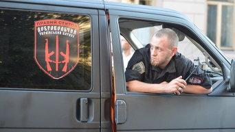 Марш батальонов в Киеве