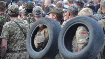 Марш добровольческих батальонов в Киеве. Архивное фото