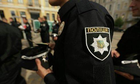 Присяга новой патрульной полиции Киева