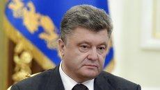 Встреча Порошенко с военнослужащими