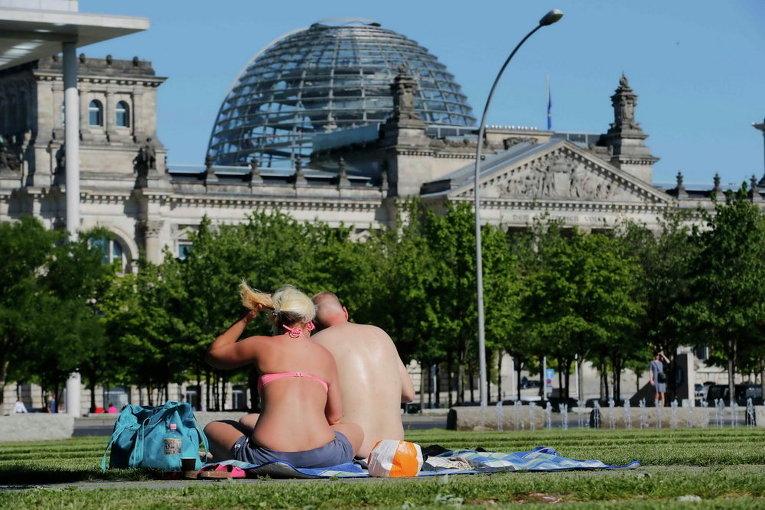 Жара в Германии