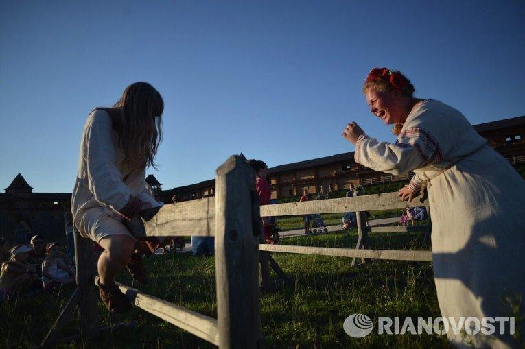 Праздник Ивана Купала в Парке Киевская Русь