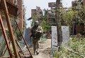 Военные в Широкино