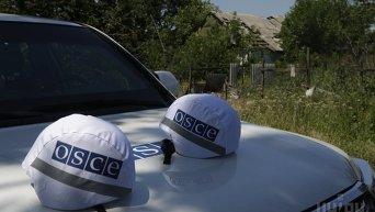 Представители ОБСЕ в Широкино