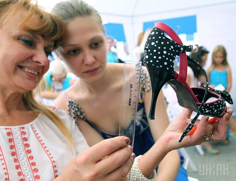 Забег на каблуках во Львове