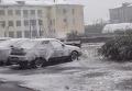 Летний снег в российской Воркуте. Видео