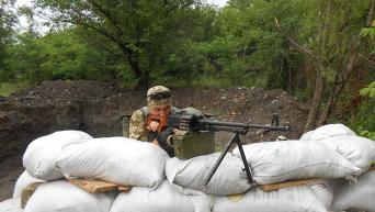 Украинский силовик в зоне АТО