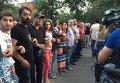 Разгон митинга в Ереване 6 июля 2015 г.