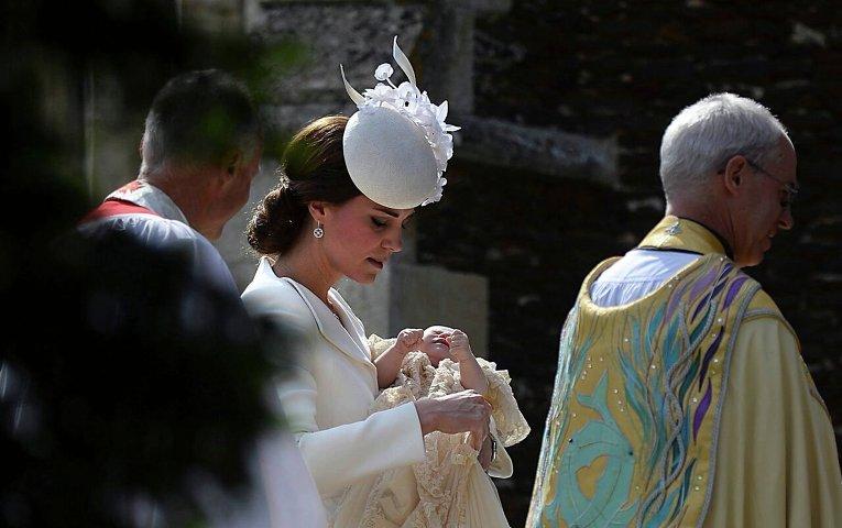 Крещение прицессы Шарлотты