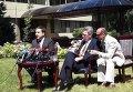 Пресс-конференция Михаила Саакашвили и Джеффри Пайетта