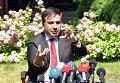 Пресс-конференция Михаила Саакашвили и посла США в Украине Джеффри Пайетта