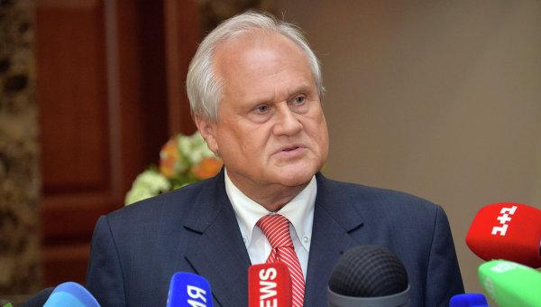 Брифинг спецпредставителя ОБСЕ по Украине Мартина Сайдика в Минске